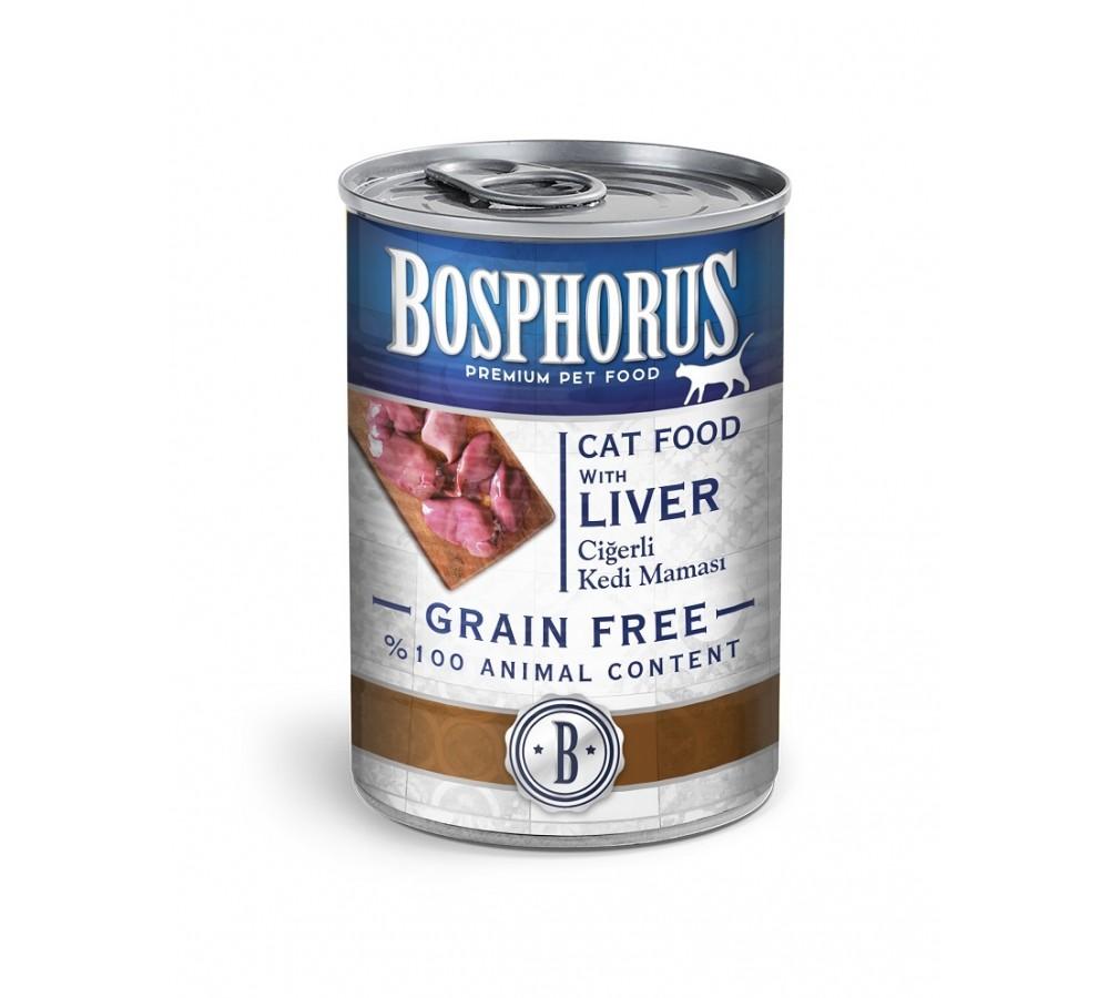 BOSPHORUS CAT FOOD WITH LIVER / CİĞERLİ KEDİ MAMASI (12)