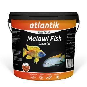 ATLANTİK MALAWI FISH GRANULAT 3000 GR KOVA