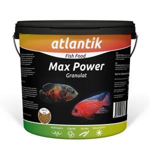 ATLANTİK MAX POWER GRANULAT 3000 GR KOVA BALIK YEMİ