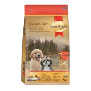 SHG KÖPEK MAMASI GOLD PUPPY ALL BREEDS  SALMON MEAL & RİCE 3 KG (4)
