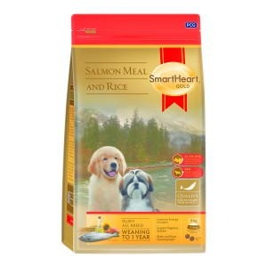 SHG KÖPEK MAMASI GOLD PUPPY ALL BREEDS  SALMON MEAL & RİCE 15 KG (1)