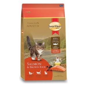 SHG KEDİ MAMASI GOLD SALMON & BROWN RİCE CAT FOOD - 1 KG (12)